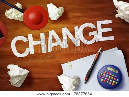 Change Desktop Memo Calculator Office Think Organize