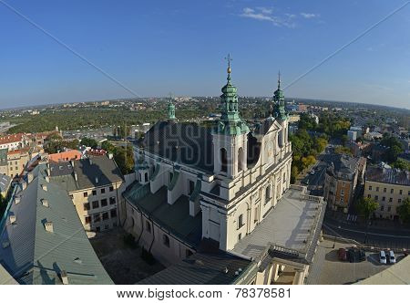 Top View Of Lublin (poland)
