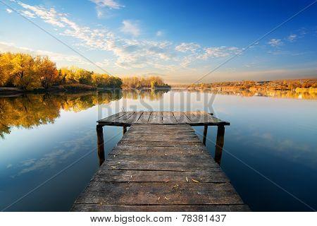 Bridge for fishing