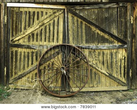 Ancient Spoked Wheel