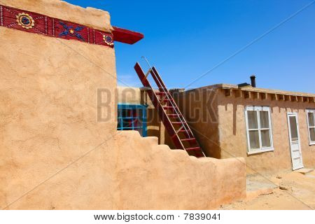 Sky City Acoma Indians housing