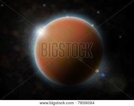 Planeta marrón