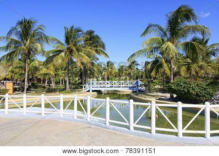 Area of hotel Sol Cayo Largo.