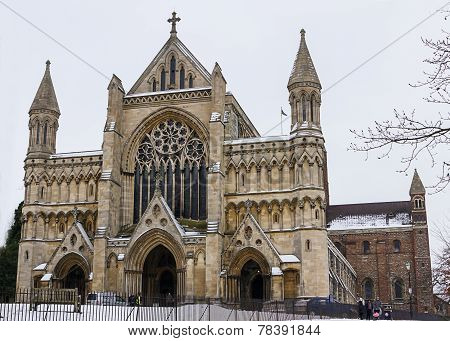 St.albans, Uk - 24 January 2013  - Cathedral And Abbey Church