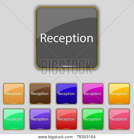 Reception Sign Icon