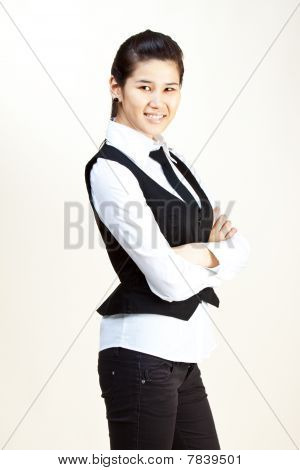 Smiling Business Woman.