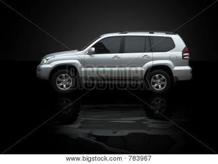 wet jeep