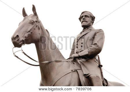 Robert E. Lee Statue At Gettysburg,