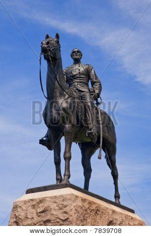 Gen. Meade Statue, Facing Front