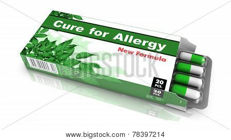 Cure for Allergy - Blister Pack Tablets.