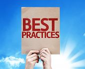 foto of  practices  - Best Practices card with beautiful day - JPG