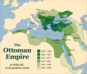 image of ottoman  - The Ottoman Empire at its greatest extent in 1683 - JPG