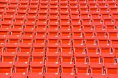 stock photo of bleachers  - stadium - JPG