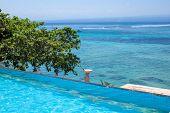 foto of infinity pool  - Enjoy the ocean view infinity pool on vacation - JPG