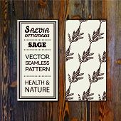 picture of salvia  - Health and Nature Collection - JPG