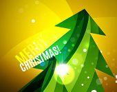foto of merry chrismas  - Colorful bright Chrismas card - JPG