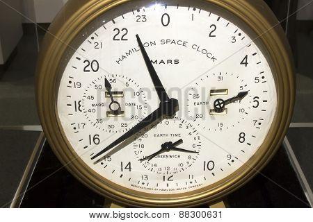 Hamilton Space Clock