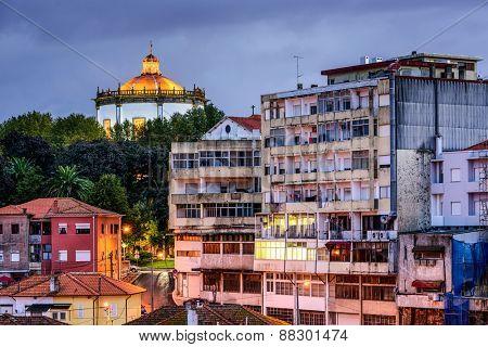 Vila Nova de Gaia, Portugal at Serra de Pilar Monastery.