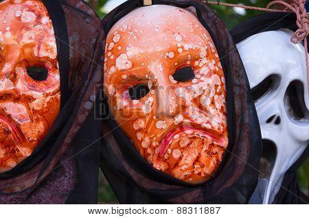Carnival Masks In Constanza