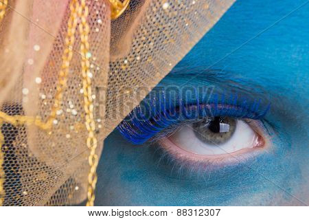 Eye Makeup. Creative eye makeup