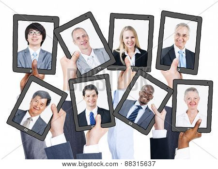 Business People and Social Networking Concepts