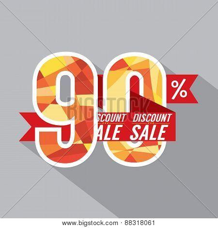 Discount 90 Percent Off.