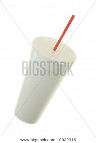 Plastic Cup And Straw