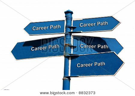 Career Path Sign