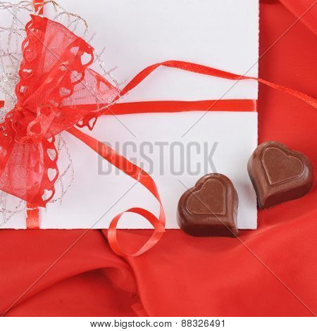 Chocolate And Letter