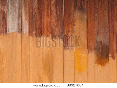 Unfinished Paint Wooden Planks Texture, Wood Background