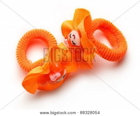 Orange Rubber Bands