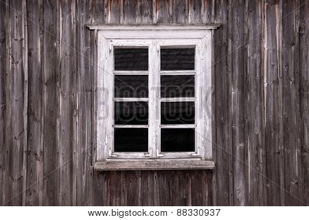 Window of an old rural house