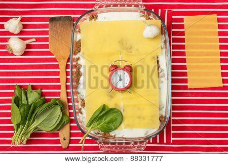 Cooking Lasagna