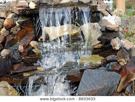 uma cachoeira