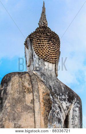 Behind Lord Buddha