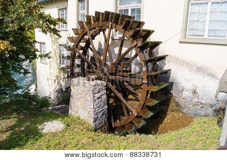 watermill wheel