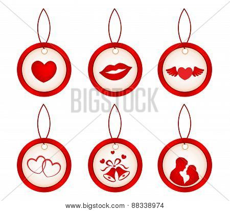Valentines Day Icons / Gift Tags