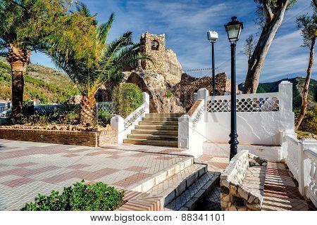 Shrine to the Virgin of the Rock in Mijas