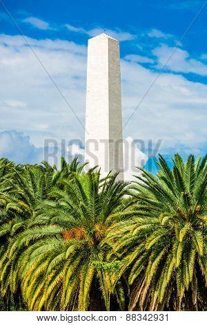 Obelisk in Sao Paulo, Brazil