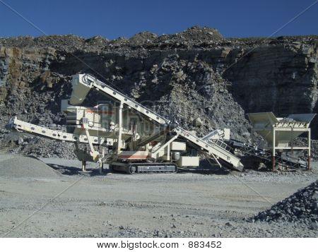 Steinbruch Conveyor Belt Maschine