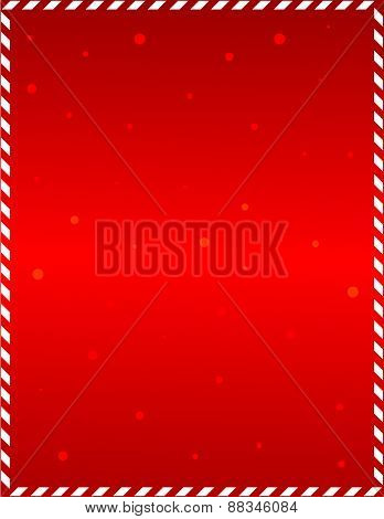 Red Christmas Frame