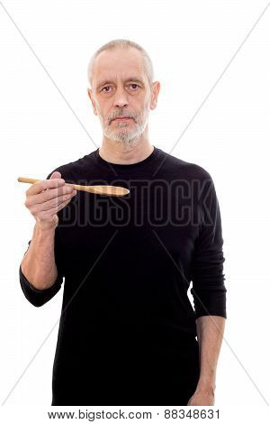 Man With Wooden Spoon