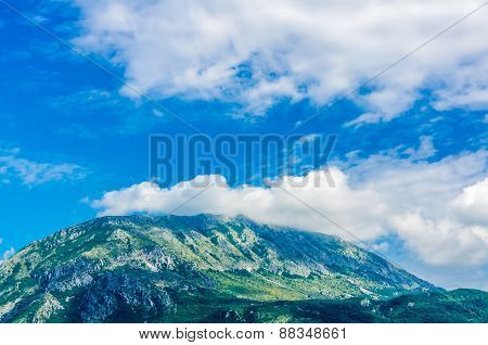 Landscape View On Mountain In Montenegro