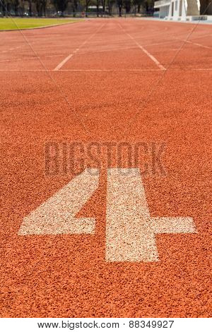 Running Track Number 4