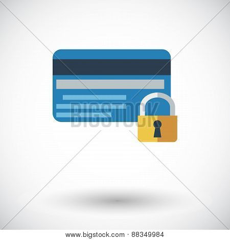 Credit card protection concept
