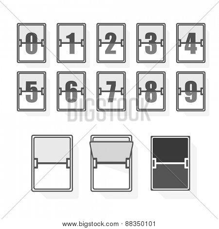 Couter minimalism illustration concept