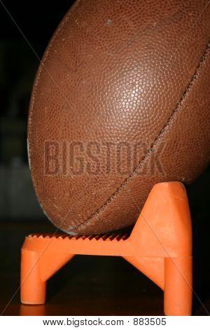 Football Tee With Ball