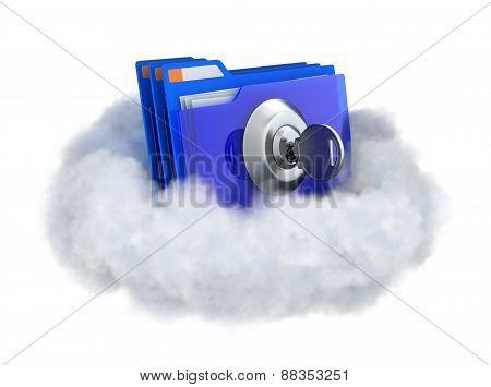 Locked Folder In A Cloud