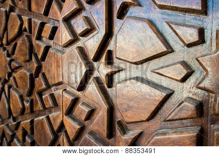 Wood carving pattern