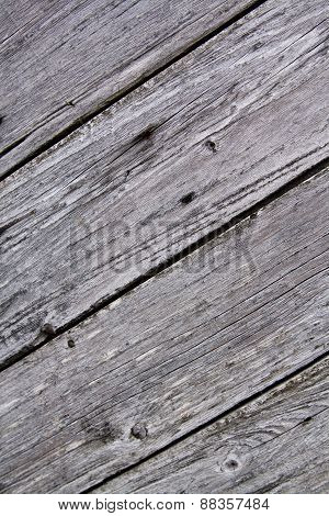 Light Unpainted Wooden Background With Diagonal Stripes